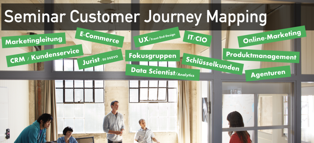 Seminar Customer Journey Mapping Mahrdt Media Economics Institut