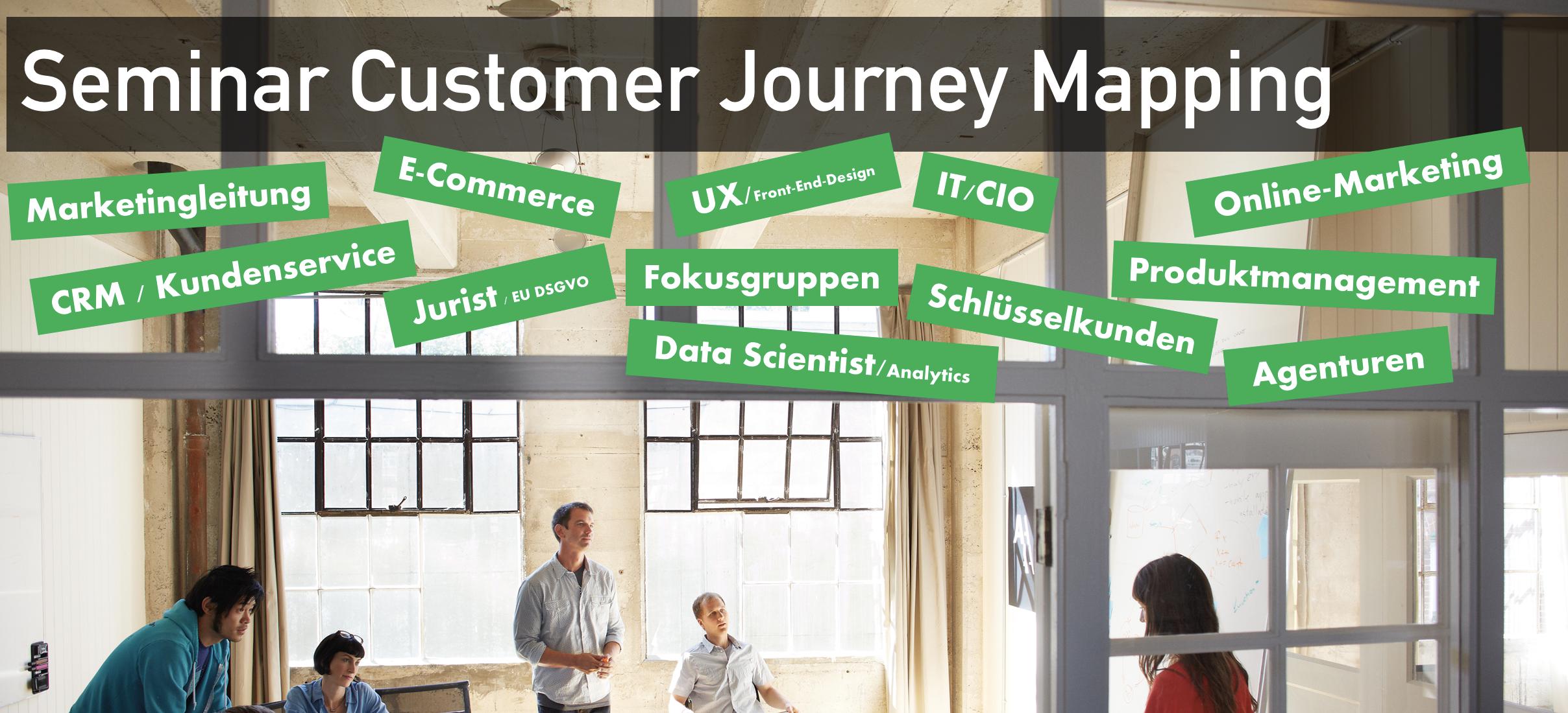 Seminar Customer Journey Mapping Mahrdt Media Economics Institut