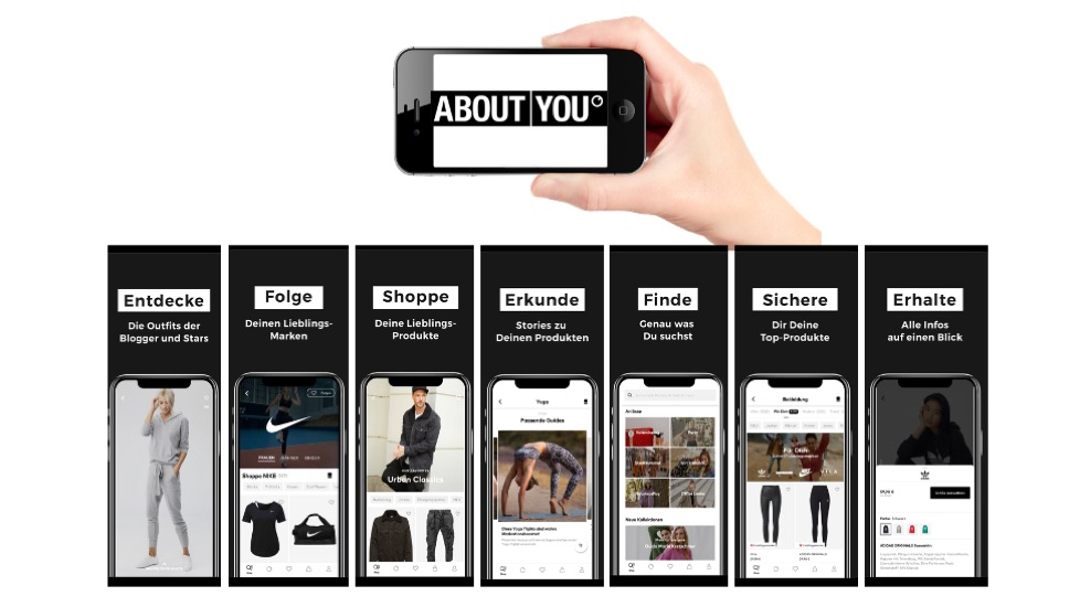 Aboutyou App Funktionen